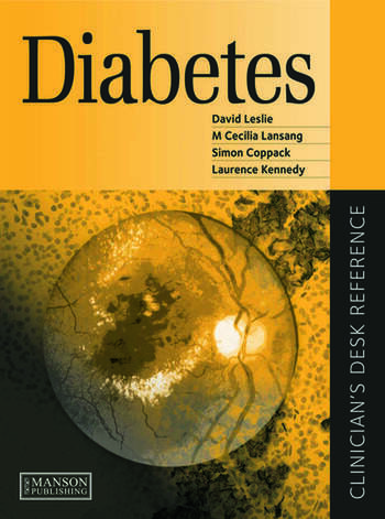 Diabetes Clinician's Desk Reference book cover