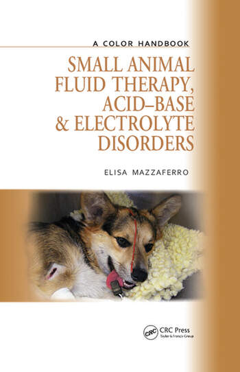 Small Animal Fluid Therapy, Acid-base and Electrolyte Disorders A Color Handbook book cover