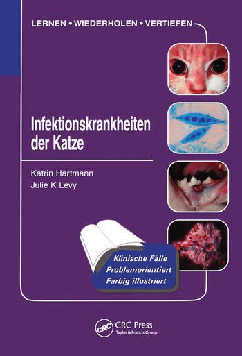 Infektionskrankheiten der Katze book cover