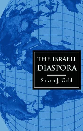 The Israeli Diaspora book cover