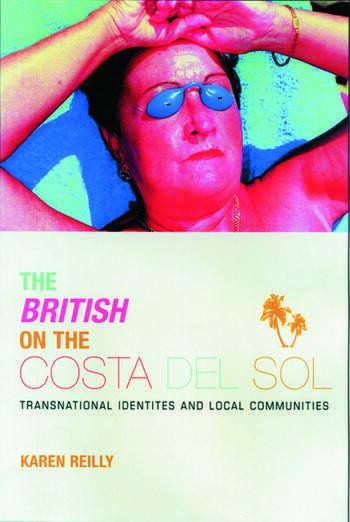 The British on The Costa Del Sol book cover