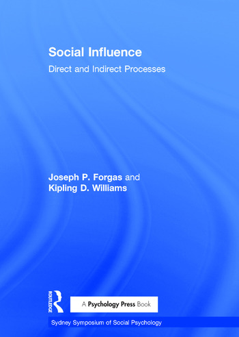 Social Influence Direct and Indirect Processes book cover