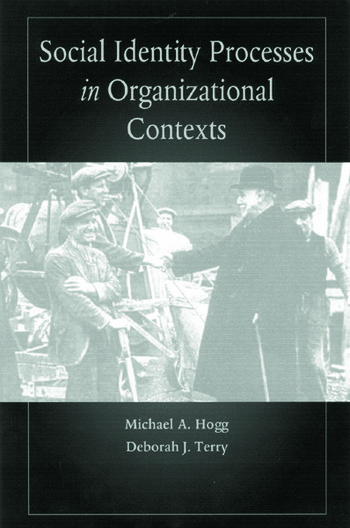 Social Identity Processes in Organizational Contexts book cover