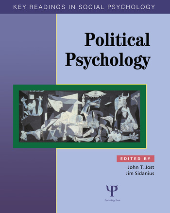 Political Psychology Key Readings book cover