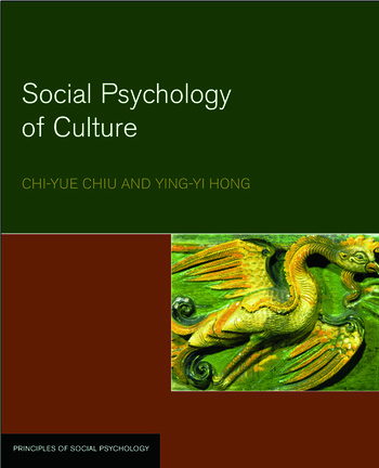 Social Psychology of Culture book cover