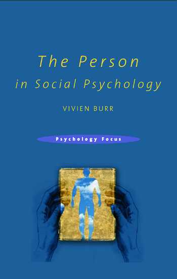 The Person in Social Psychology book cover