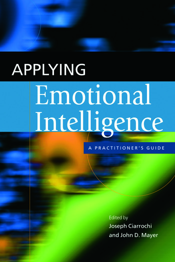 Applying Emotional Intelligence A Practitioner's Guide book cover