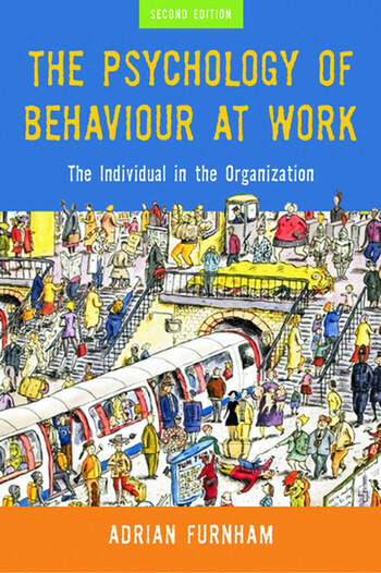 The Psychology of Behaviour at Work The Individual in the Organization book cover