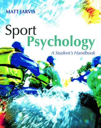 Sport Psychology: A Student's Handbook book cover