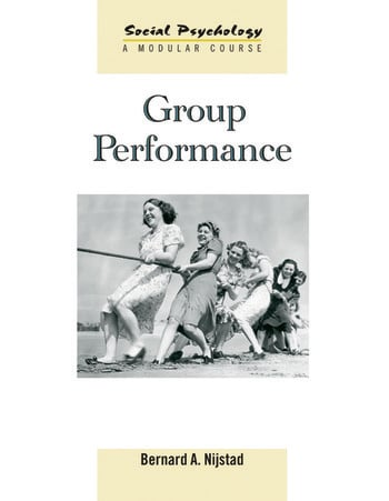 Group Performance book cover