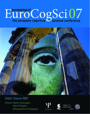 Proceedings of the European Cognitive Science Conference 2007 book cover