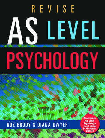 Revise AS Level Psychology book cover