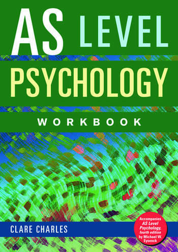 AS Level Psychology Workbook book cover