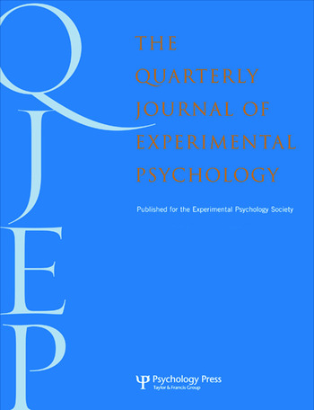 Grounding Cognition in Perception and Action A Special Issue of the Quarterly Journal of Experimental Psychology book cover