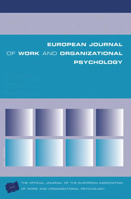 Psychological and Organizational Climate Research: Contrasting Perspectives and Research Traditions A Special Issue of the European Journal of Work and Organizational Psychology book cover