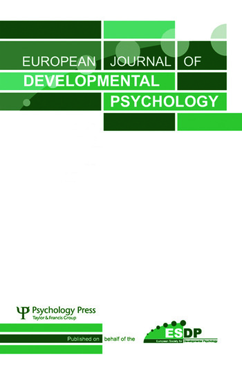 Developmental Co-construction of Cognition A Special Issue of European Journal of Developmental Psychology book cover