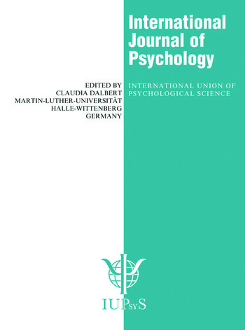 Environmental Perception and Cognitive Maps A Special Issue of the International Journal of Psychology book cover