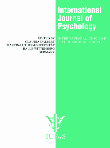 International Practices in the Teaching of Psychology A Special Issue of the International Journal of Psychology book cover