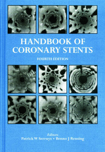 Handbook of Coronary Stents book cover