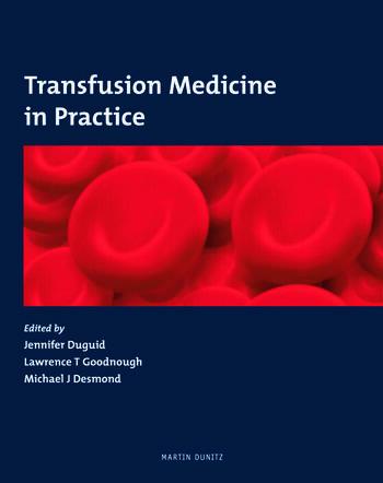 Transfusion Medicine in Practice book cover