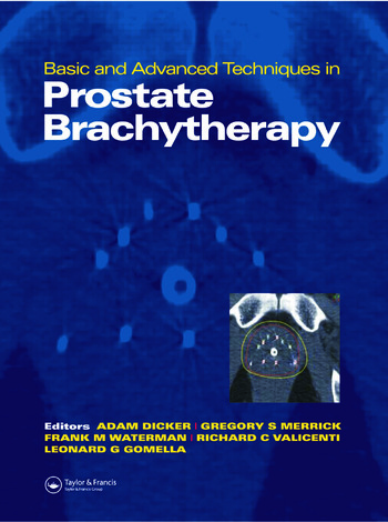 Basic and Advanced Techniques in Prostate Brachytherapy book cover