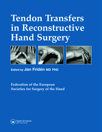 Tendon Transfers in Reconstructive Hand Surgery book cover