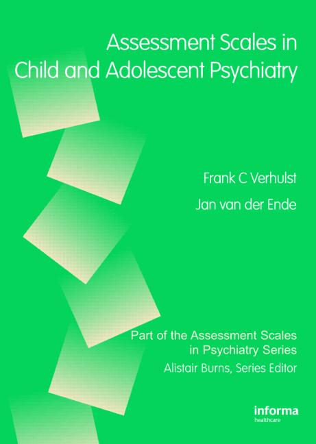 Assessment Scales in Child and Adolescent Psychiatry book cover