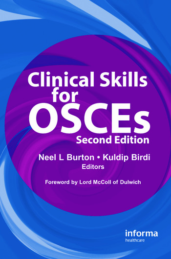 Clinical Skills for OSCEs book cover