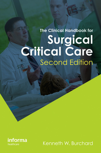 The Clinical Handbook for Surgical Critical Care, Second Edition book cover