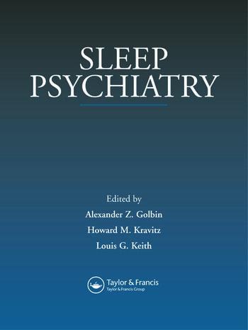 Sleep Psychiatry book cover