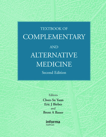 Textbook of Complementary and Alternative Medicine book cover