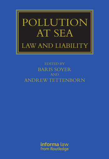 Pollution at Sea Law and Liability book cover