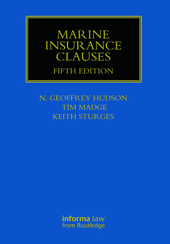 Marine Insurance Clauses book cover