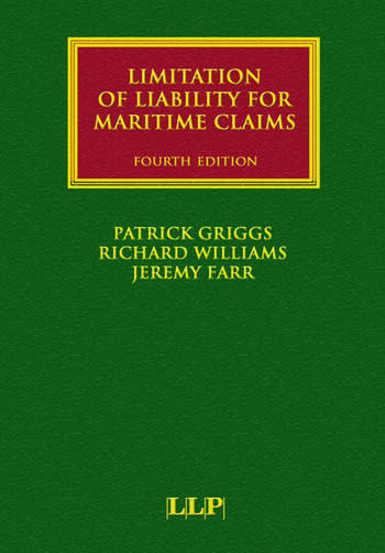 Limitation of Liability for Maritime Claims book cover