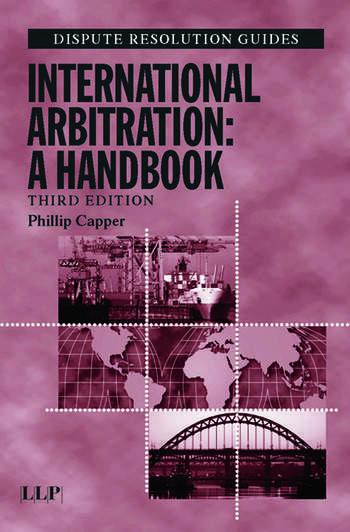 International Arbitration: A Handbook book cover