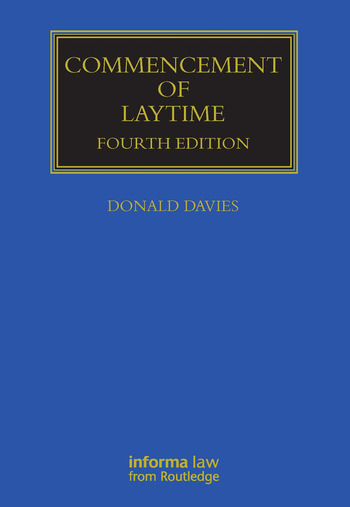 Commencement of Laytime book cover