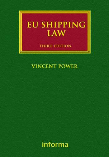 EU Shipping Law book cover