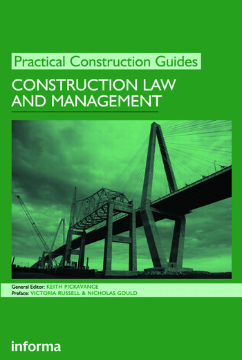 Construction Law and Management book cover