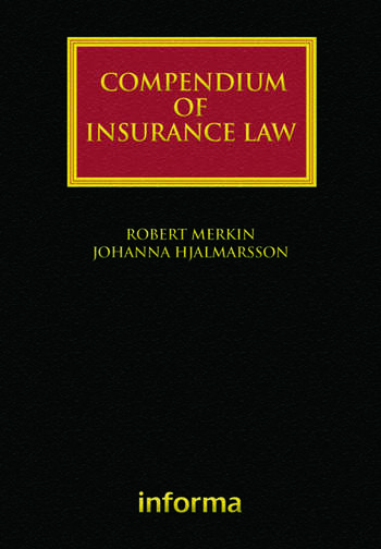 Compendium of Insurance Law book cover
