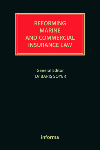 Reforming Marine and Commercial Insurance Law book cover