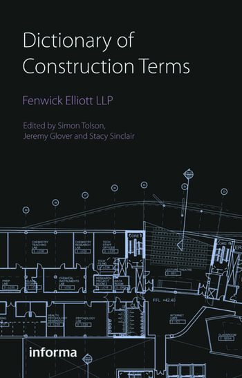 Dictionary of Construction Terms book cover