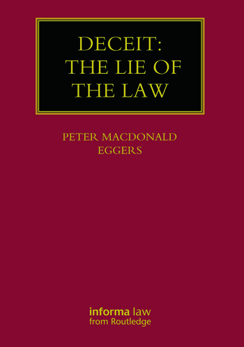 Deceit: The Lie of the Law book cover