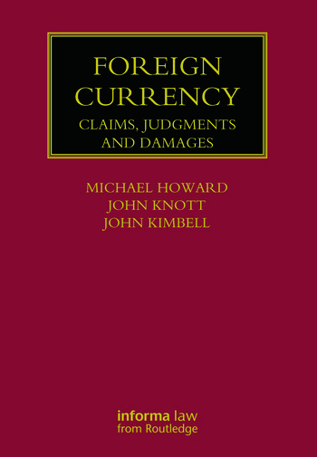 Foreign Currency Claims, Judgments and Damages book cover