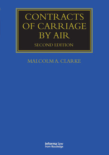 Contracts of Carriage by Air book cover