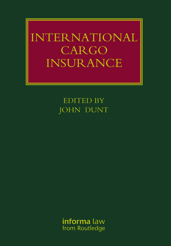 International Cargo Insurance book cover
