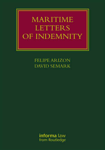 Maritime Letters of Indemnity book cover