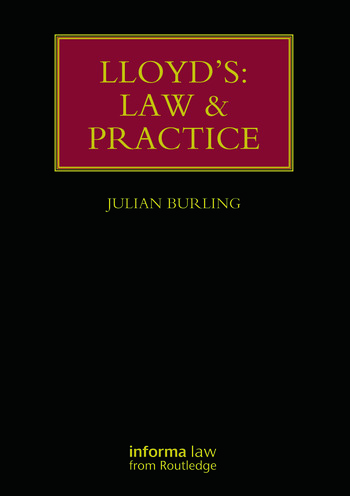 Lloyd's: Law and Practice book cover