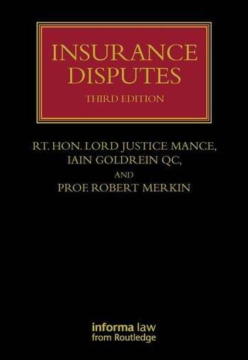 Insurance Disputes book cover