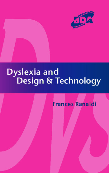 Dyslexia and Design & Technology book cover