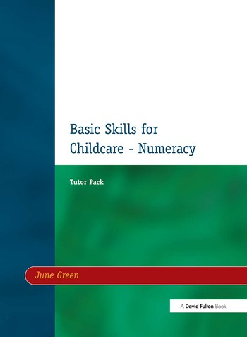 Basic Skills for Childcare - Numeracy Tutor Pack book cover